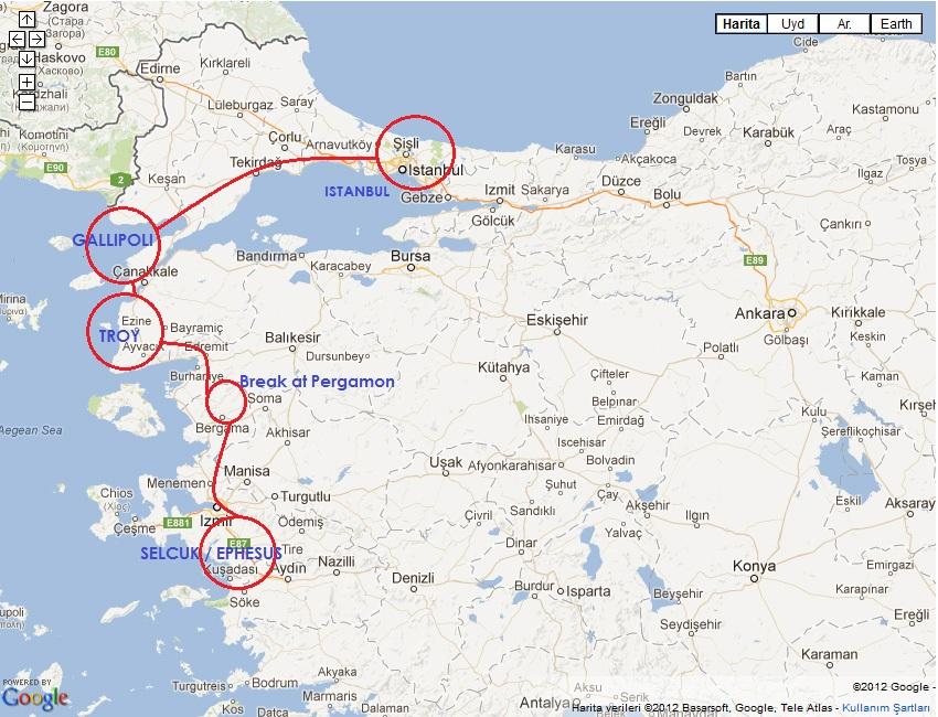 Hle Free Travel Agency  Turkey Escorted Tours   ANZAC Day 2010 ... Kusadasi Turkey Map on bodrum turkey map, antalya turkey map, aphrodisias turkey map, side turkey map, turkey country map, temple of artemis at ephesus map, ephesus turkey map, midyat turkey map, istanbul turkey map, santorini greece map, marmaris turkey map, city of ephesus map, uchisar turkey map, bosporus dardanelles map, world map, cappadocia turkey map, mount nemrut turkey map, assos turkey map, derinkuyu turkey map, artvin turkey map,