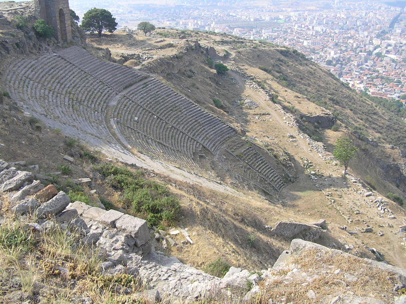 an overview of the history of greek theater Greek theatre timeline 330 bc aristotle, another greek philosopher defends greek tragedies and comedies in his poetics the end full transcript.